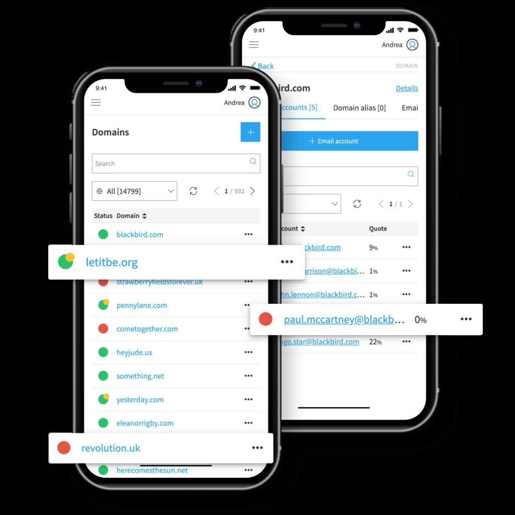 Qboxmail Panel App
